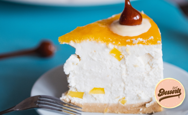 Chilled Mango Cheesecake