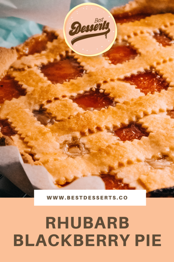 Rhubarb Blackberry Pie Recipe