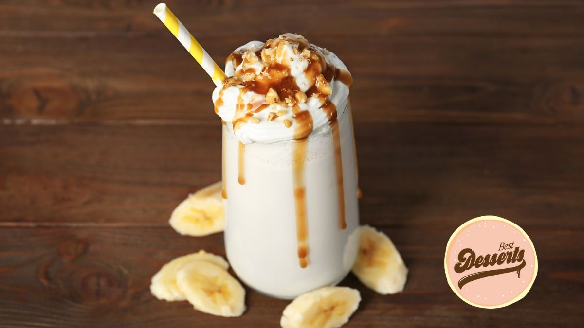 Best Desserts - Easiest Banana and Maple Smoothie