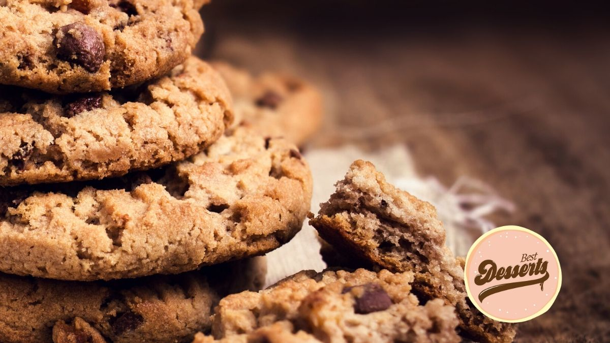 Best Desserts - Healthy Oatmeal Chocolate Chip Cookies