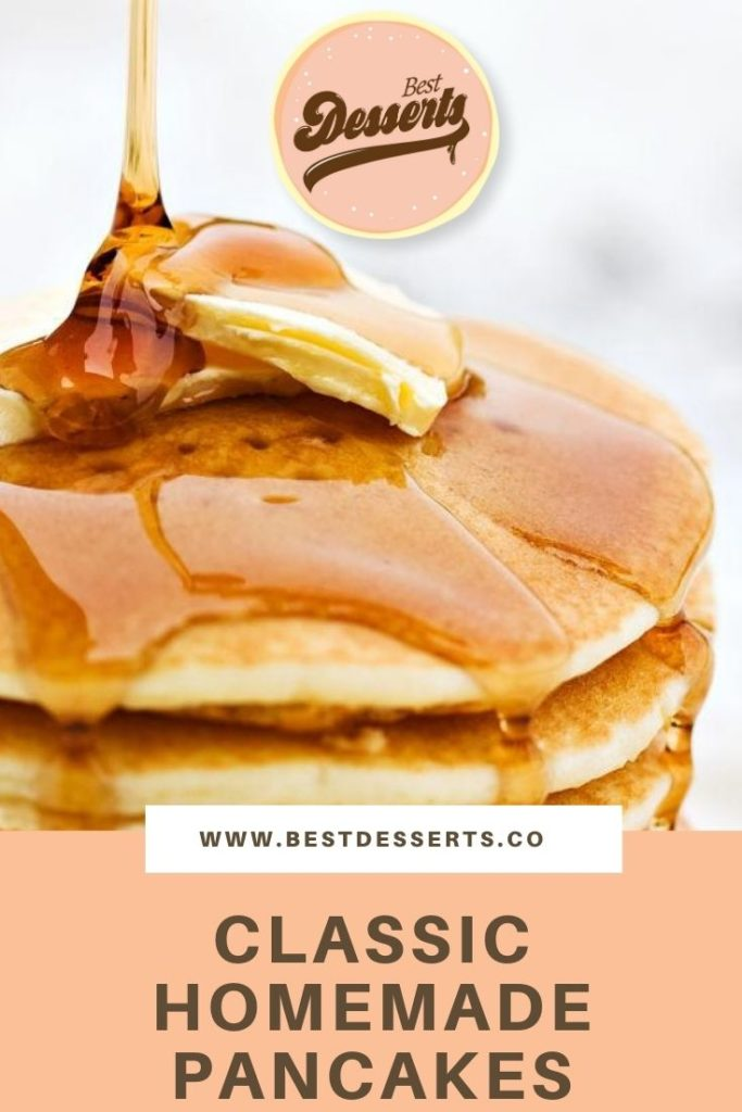 Your Classic Homemade Pancakes