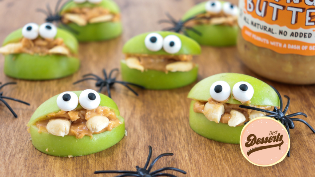 Apple Monsters - Best Halloween Snacks (1)