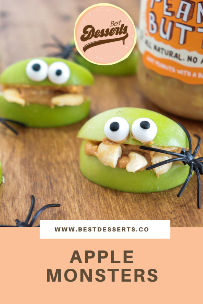 Apple Monsters - Best Halloween Snacks