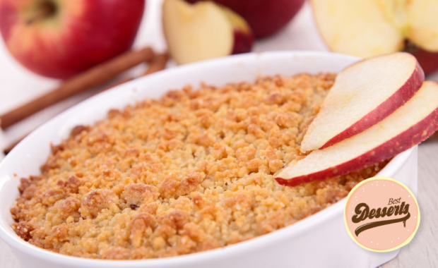 Gordon Ramsay's Apple Crumble